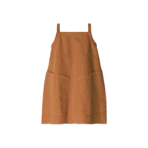 Apron Dress - Adobe