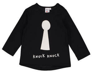 Knock Knock Baby Top (LAST ONE 3-6mo)