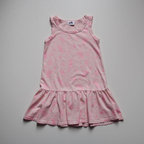 Mermaid Ruffle Tank Dress (LAST ONE sz 2)