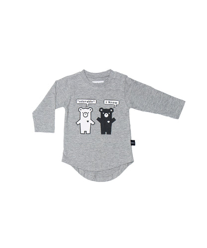 Duo Bear Long Sleeve Top (LAST ONE sz 3)