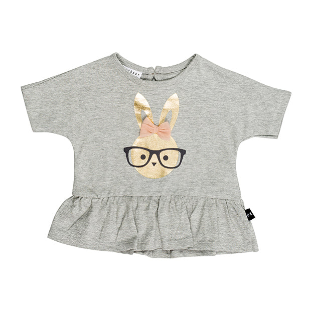 Bunny Wide Frill Top (ONLY 6-12mo, 1)