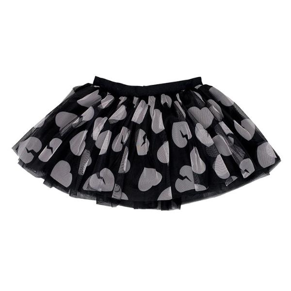 Hearts Tulle Skirt