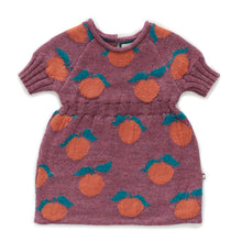 Load image into Gallery viewer, Clementine Dress - Mauve/Apricot