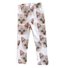 Load image into Gallery viewer, Kitty Leggings (ONLY 12/18, 18/24mo)