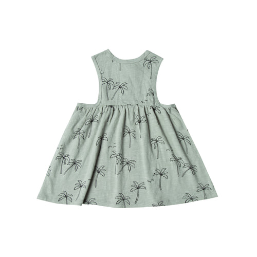 Palm Trees Layla Dress (LAST ONE 12-18mo)