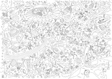 Giant Coloring Poster - Cosmos
