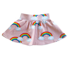 Load image into Gallery viewer, Pink Rainbows Skirt