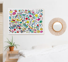 Load image into Gallery viewer, Giant Coloring Poster - Baby Pop Art