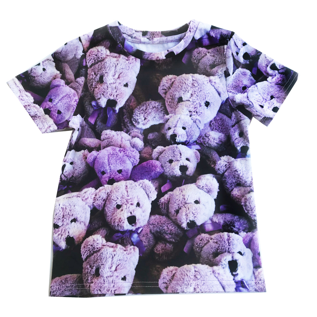 Purple Bears T-Shirt (LAST ONE 8Y)