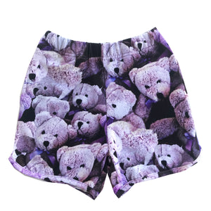 Purple Bears Shorts