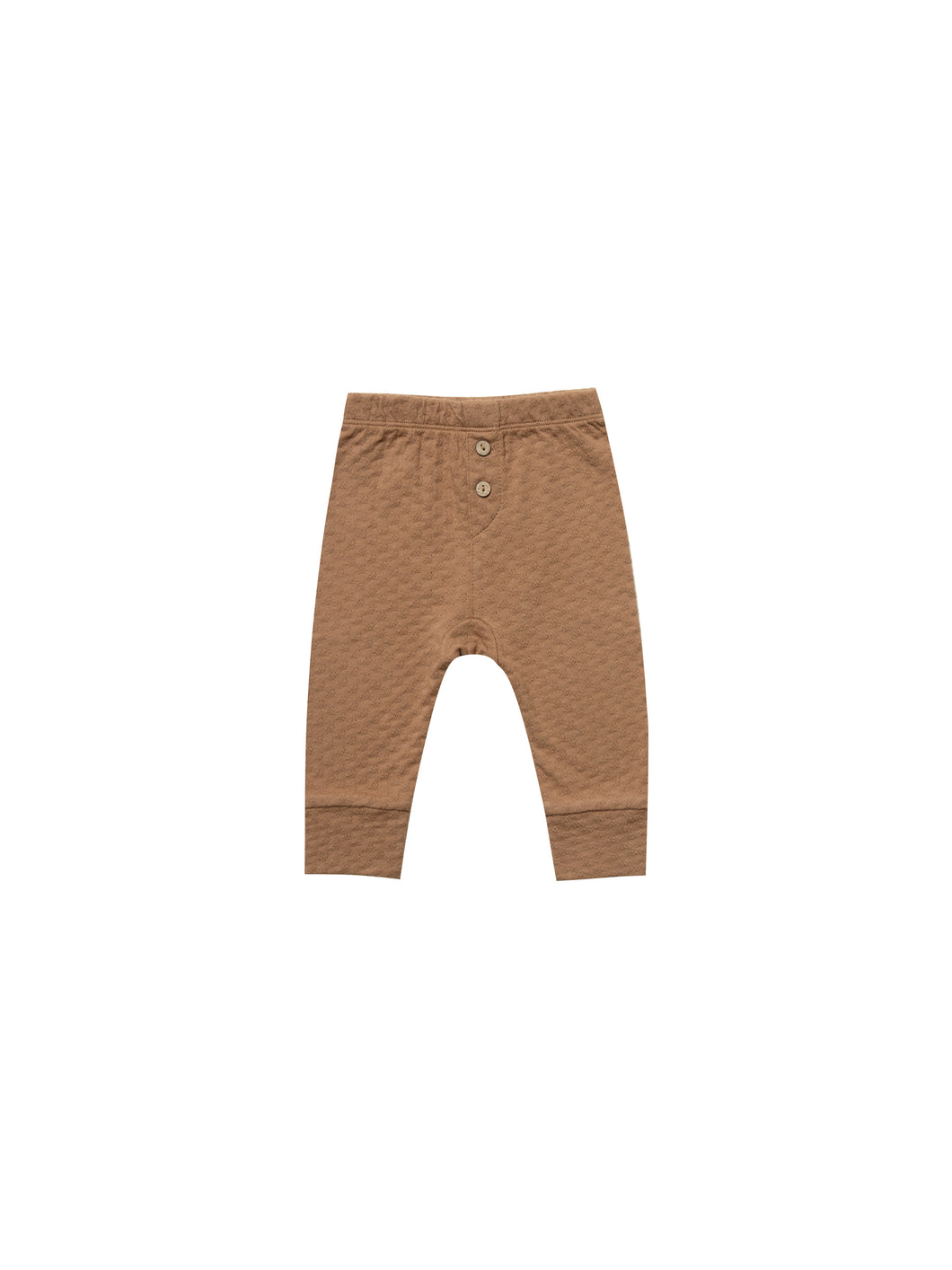 Pointelle Pajama Pant - Copper