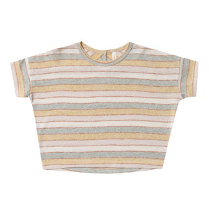 Stripe Boxy Tee (LAST ONE 6-7y)
