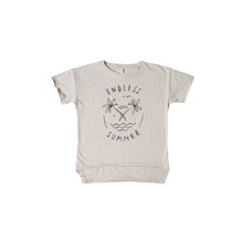 Endless Summer Raw Edge Tee (ONLY 4/5y)
