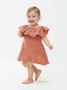Ruffle Linen Dress (ONLY 6T, 8T)