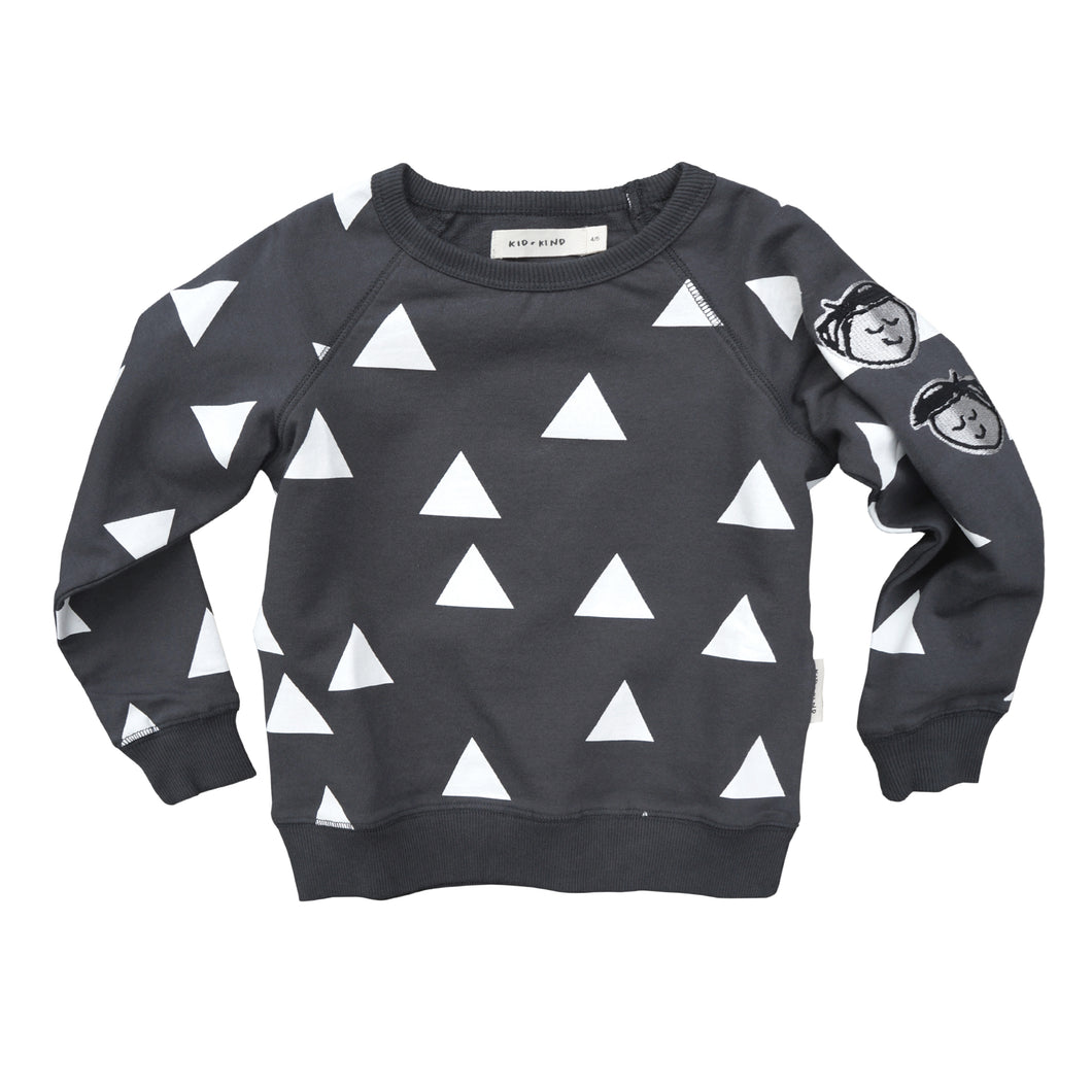 Triangle Pullover Sweatshirt