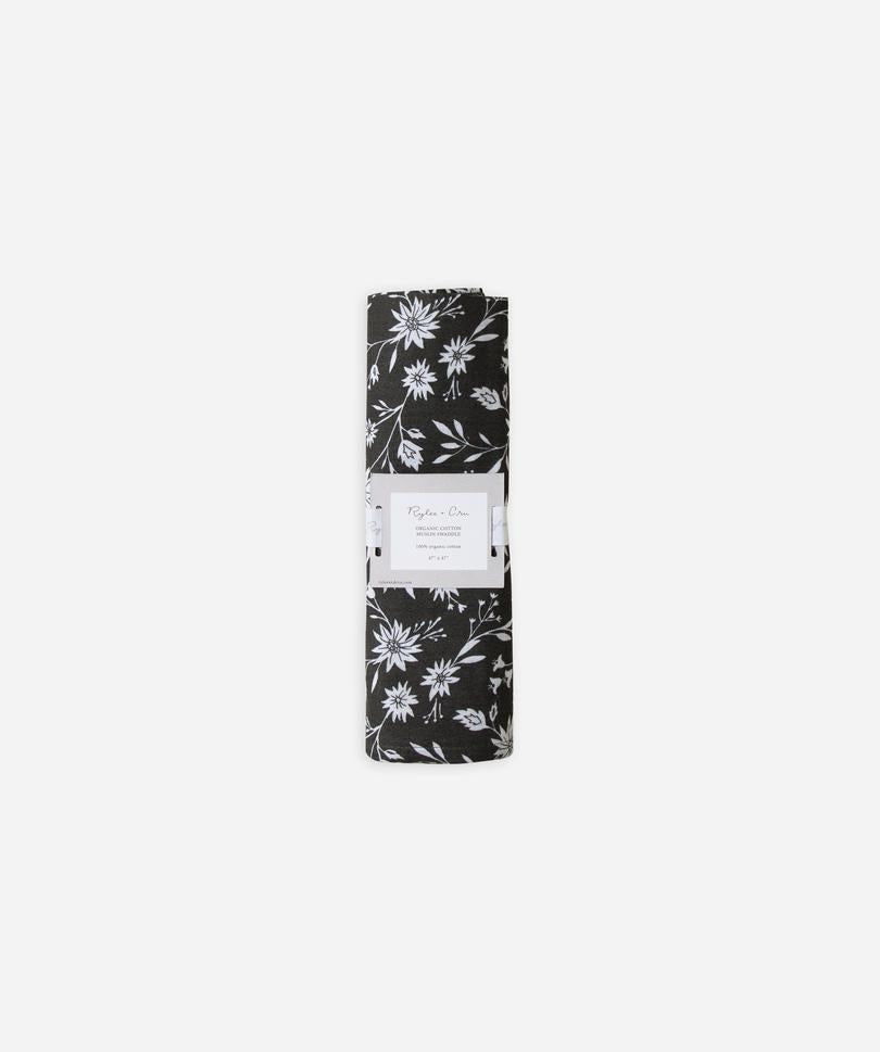 Swaddle - Midnight Floral