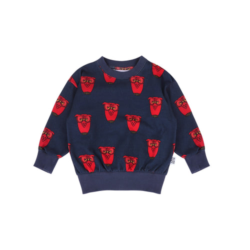 Owl AOP Sweater