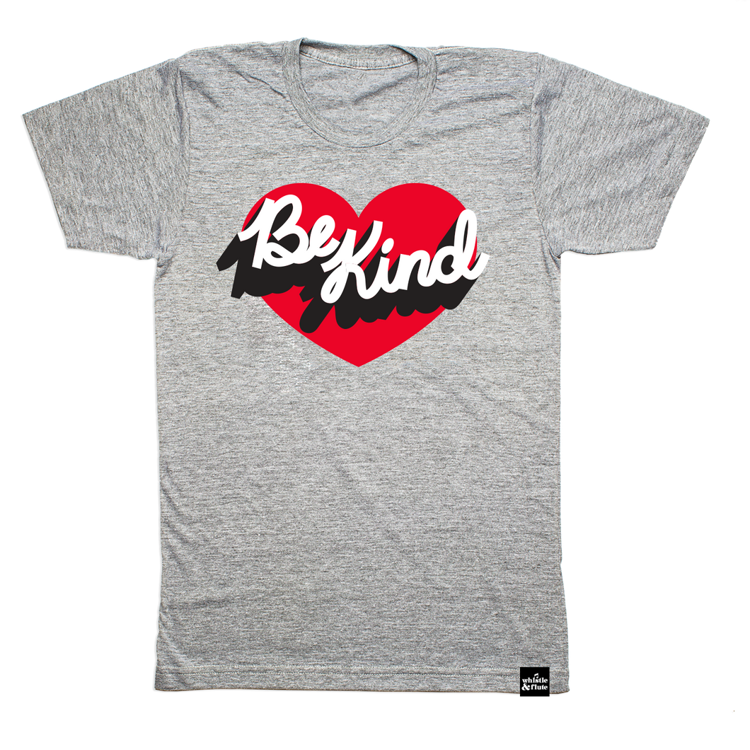 Be Kind Heart T-Shirt - Adult