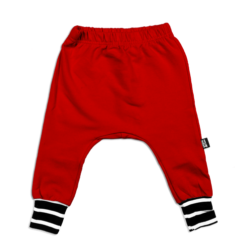 Bamboo Joggers - Red (LAST ONE 5-6Y)