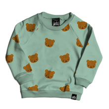 Load image into Gallery viewer, Bear Allover Print Sweatshirt