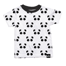 Load image into Gallery viewer, Kawaii Panda Allover Print T-Shirt (LAST ONE 1/2y)