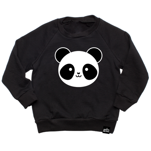 Kawaii Panda Sweatshirt (LAST ONE 12-18mo)