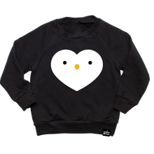 Load image into Gallery viewer, Kawaii Penguin Heart Sweatshirt
