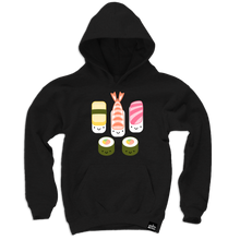 Load image into Gallery viewer, Kawaii New Sushi Hooded Sweatshirt (LAST ONE 12-18mo)