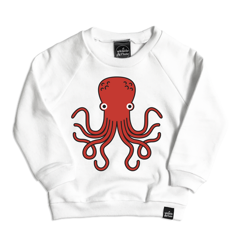 Kawaii Octopus Sweatshirt (ONLY 12-18mo, 1-2Y)