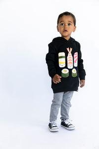 Kawaii New Sushi Hooded Sweatshirt (LAST ONE 12-18mo)