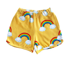 Load image into Gallery viewer, Yellow Rainbows Shorts