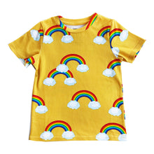 Load image into Gallery viewer, Yellow Rainbows T-Shirt