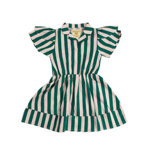 Beverly Hills Stripe Petal Sleeve Dress (LAST ONE 18/24mo)