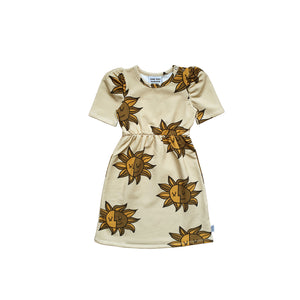 Big Sun Puffed Dress