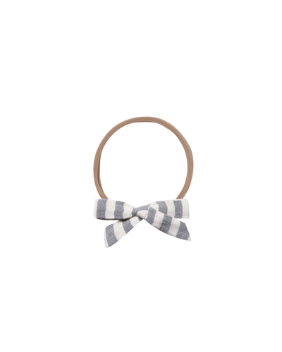Storm Stripe Bow Headband