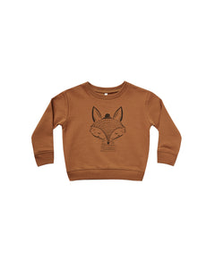 Fox Sweatshirt (LAST ONE 18-24m)