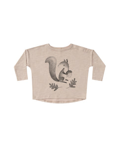 Squirrel Long Sleeve Tee