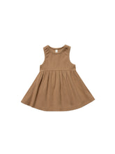 Ribbed Tank Dress - Copper
