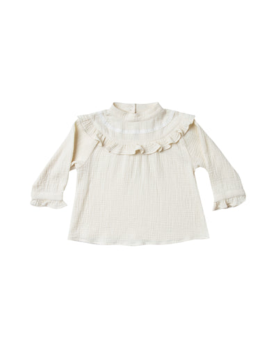 Ivory Savannah Blouse (LAST ONE 8/9y)
