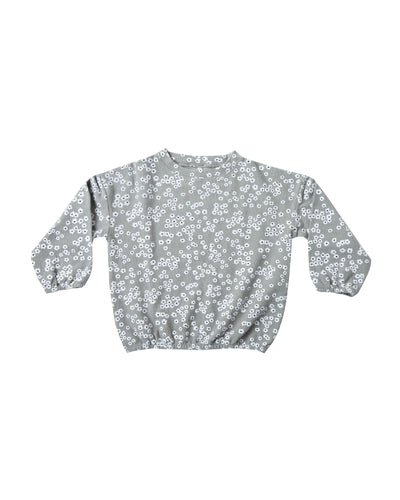 Flower Field Slouchy Pullover (LAST ONE 8/9y)