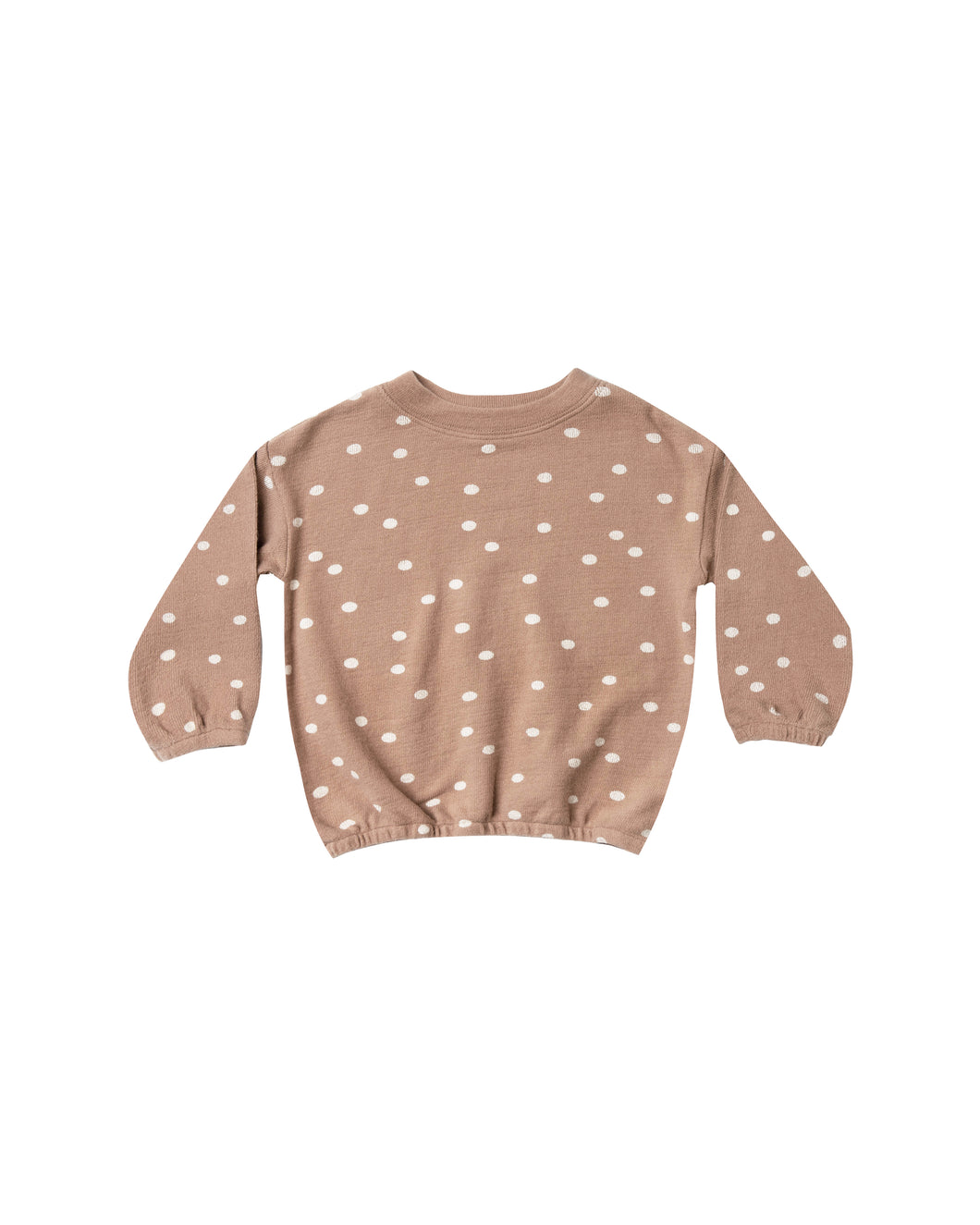 Dot Pullover Sweater - Truffle/Wheat (LAST ONE 8/9)