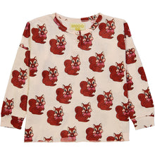 Brown Squirrel Henley Wide Tee (ONLY 1T, 6T)