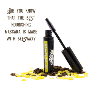Did you know that the Best Nourishing and Lengthening Mascara is Made With Beeswax?