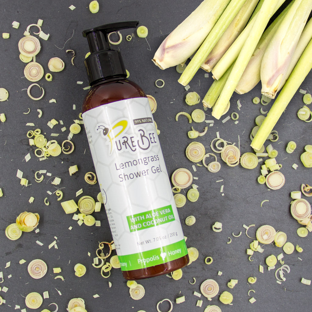 PureBee Lemongrass Shower Gel