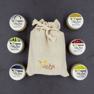 PureBee Body Scrub Mini Variety Pack