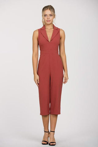 Tuxedo Jumpsuit - Blissfully Yours Tampa