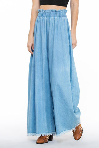 Wide Long Pants - Blissfully Yours Tampa
