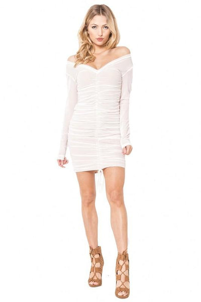 Ruched Dress - Blissfully Yours Tampa