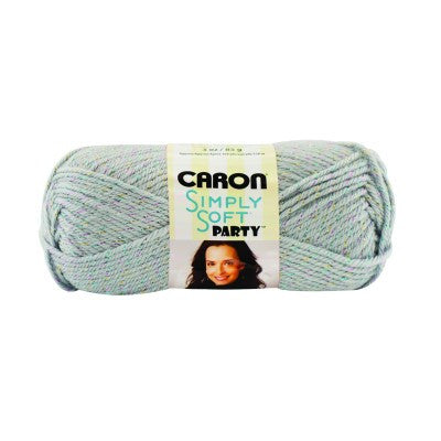 Caron Simply Soft Party - Silver Sparkle - Yarnia Craft Closet