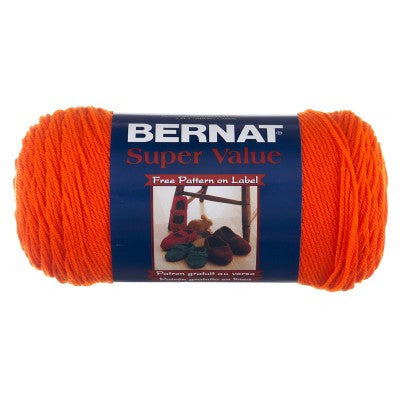 Bernat Super Value - Carrot - Yarnia Craft Closet